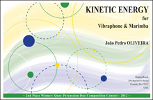 KINETIC ENERGY for Vibraphone and Marimba
